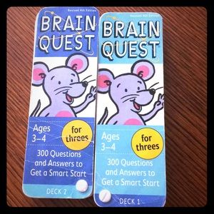 Brain quest for 3 and 4 year olds